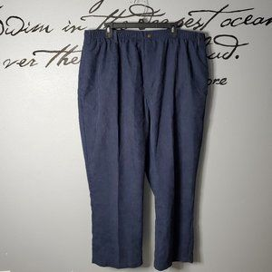 NWOT Haband Stag Hill Navy Corduroy Pants